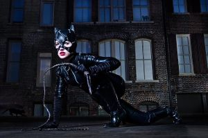 Catwoman Prowls by nikongriffin