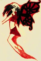 Goth Fairy by 1Rootbeer