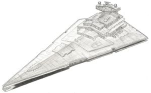Star Destroyer by MadameFirebird