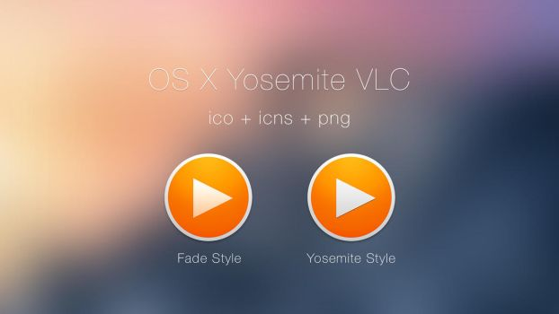 VLC Yosemite Style Icons by JasonZigrino