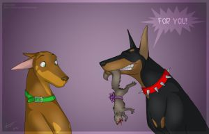 For YOU by abyss-dog by Dobermans