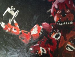 Fourth FNAF painting by Singe227