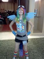 rainbow dash cosplay by captainryno