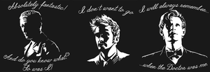 Farewell Doctor - T-shirt Designs (ON SALE!!) by sugarpoultry