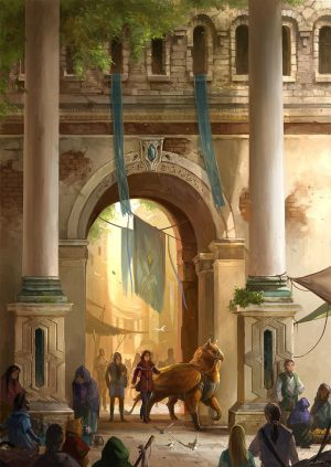 Market Gate by sandara
