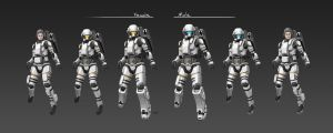 Civilian Space Suit CM81 Full Set by longgi