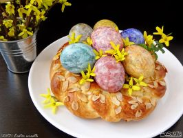 Easter wreath by PaSt1978