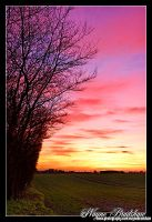 Saxmundham Sunset. by Wayne4585