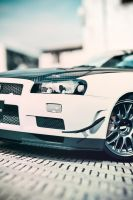 nissan skyline gt5 3 by easycheuvreuille