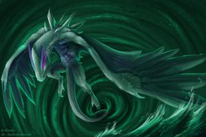 Guardian of the deep by Leundra