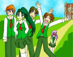 AU-FE7: Caelin Student Council by sarahakacelebi