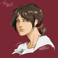 Attack On Titan - Yumir by blackteakimi