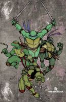 TMNT poster by mdavidct