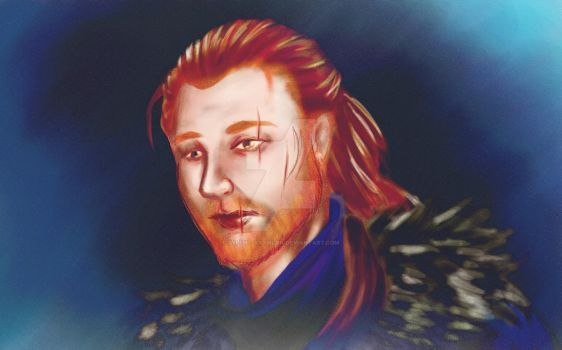 Anders the rebel by sylent-artwork