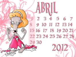 ABRIL by rebenke