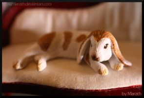 Giant rabbit on the couch ... by Miarath