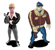 Mobster Characters by cruzarte