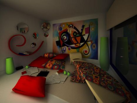 kandinsky room by MiniQ