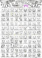 250th deviation- 100 faces of Goose by rifftiff