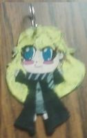 luna lovegood chibi key ring by aliciamarie923