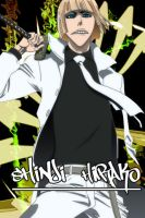 Shinji iPod Touch- iPhone Wall by gangsterg