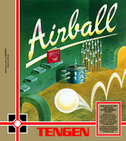 Airball Tengen unreleased nes game by vladictivo