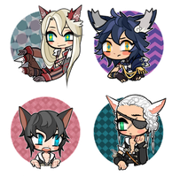 x4 button cheeb for Vaniraa by Shotze