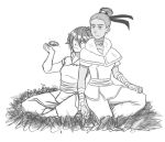 Mud, Sweat, and Tears - Katara x Toph by Sakura-Rose12