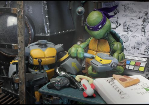 TMNT - Donatello does machines by McMuth