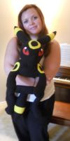 Large Umbreon Plush by PakajunaTufty