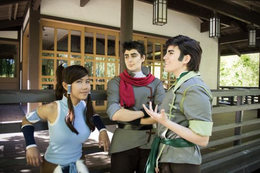 Legend of Korra Cosplay | Out of the Arena by CosplayInABox