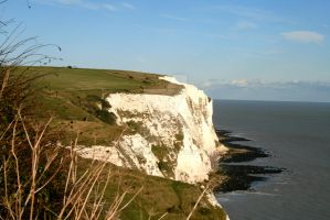 White Cliffs of Dover 2 by WolfScribe