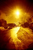 Redscale flare by aka33