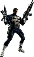 Marvel Avengers Alliance The Punisher by ratatrampa87