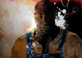 John Coffey by PaulSkelton