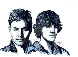 SUPERNATURAL: Winchesters by StevenWilcox