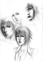 Lady Sketches by chaosbringer99