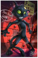 Lucky the Cat by 14-bis