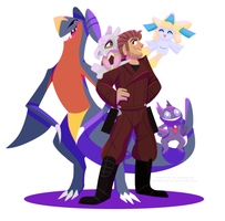 Poke Guardians 1: Star-Lord by NoneToon