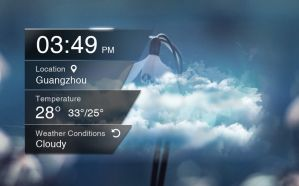 Transparent Style Widget 2 for xwidget by jimking