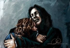 Snape and Lily - Always by ChristyTortland