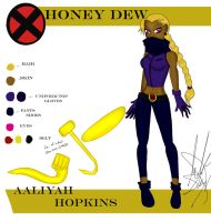X-men_OC_Honeydew by BBG4ya