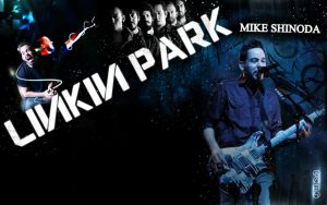 Mike Shinoda 01 by DesignsByTopher