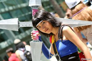 I am Yuffie harhar by the-sushi-monster