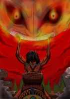 Attack on majora! by Fangterry
