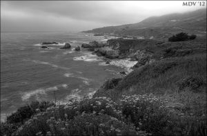 Garrapata Coast by twelvemotion