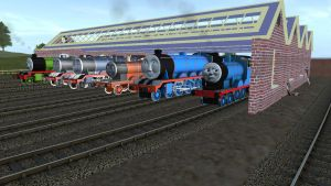 The Three Railway Engines Picture 1 Trainz Remake. by Sergeant-Sunflower