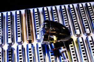 Harmonicas in the Key of Blues by VividThorn