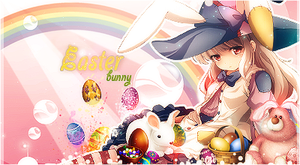 Easter Bunny by MagnifiqueN