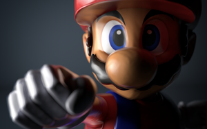 Super Smash bros. Mario trophy by PortableNetworkGraph